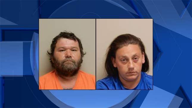 Marvin Elder, Tiffany Kelly, jail booking photos