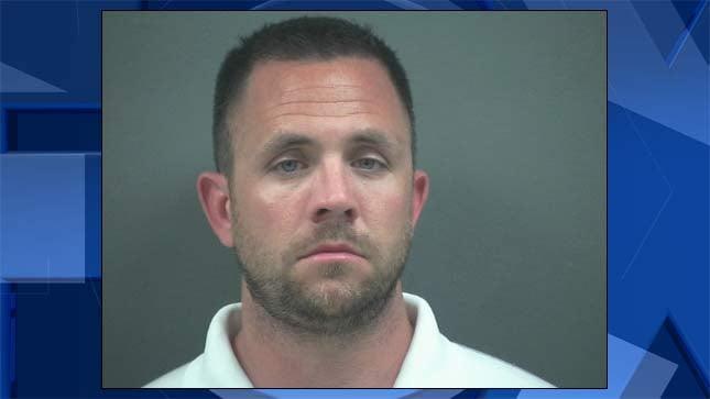 Justin Dean Haworth, jail booking photo