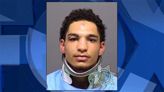 Roman Culver, jail booking photo