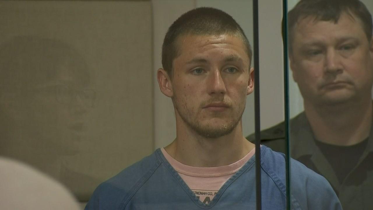 James Caldwell in court Monday. (KPTV)