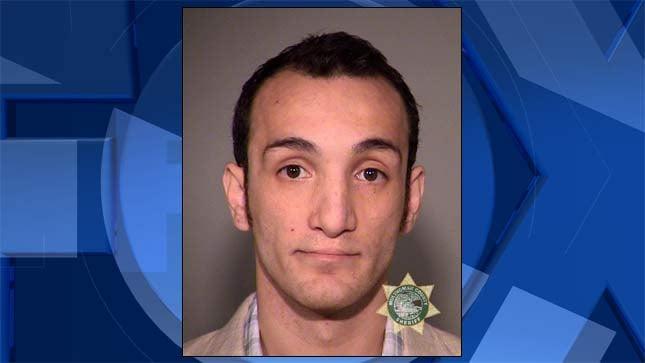 Lucas Orlin Ebert, jail booking photo