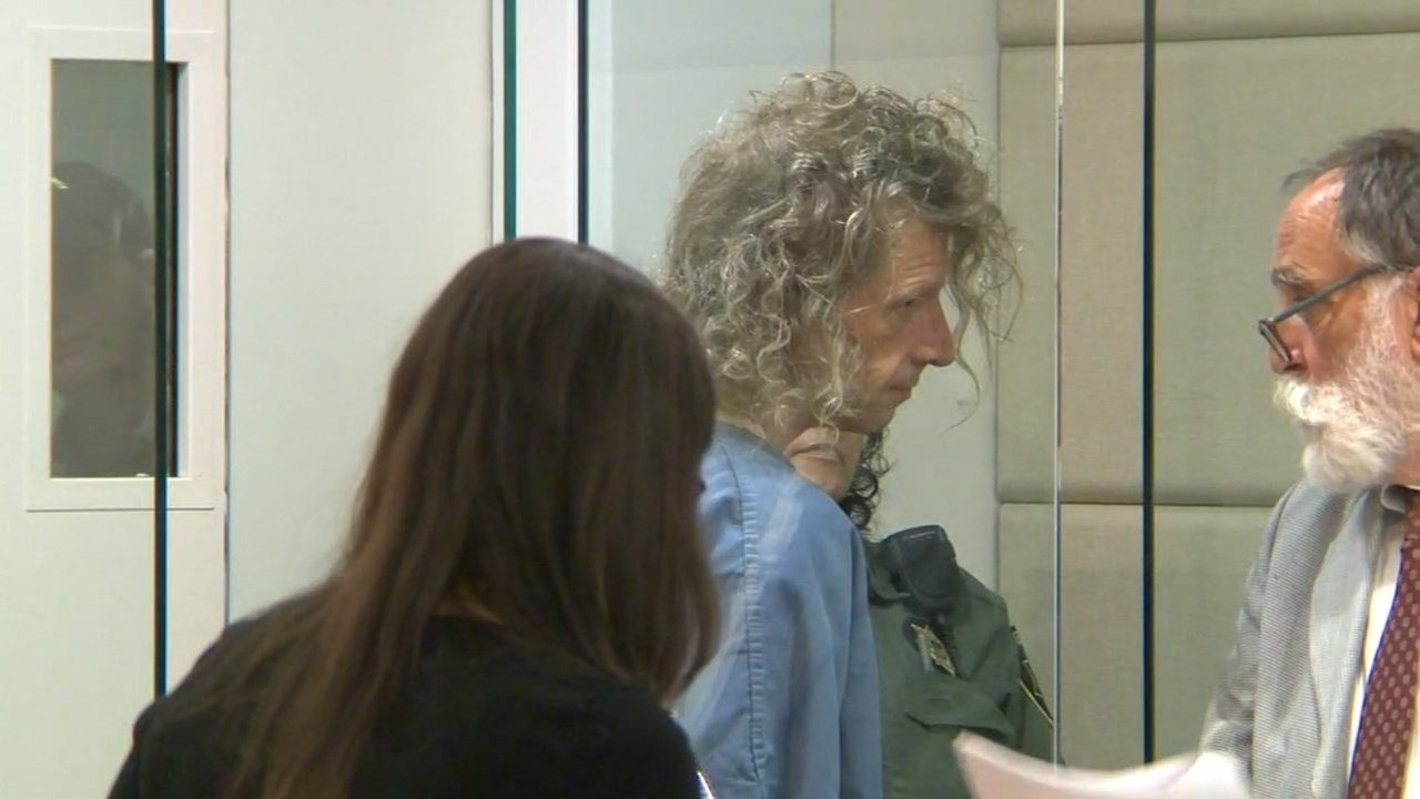 Suspect George Tschaggeny appears in court