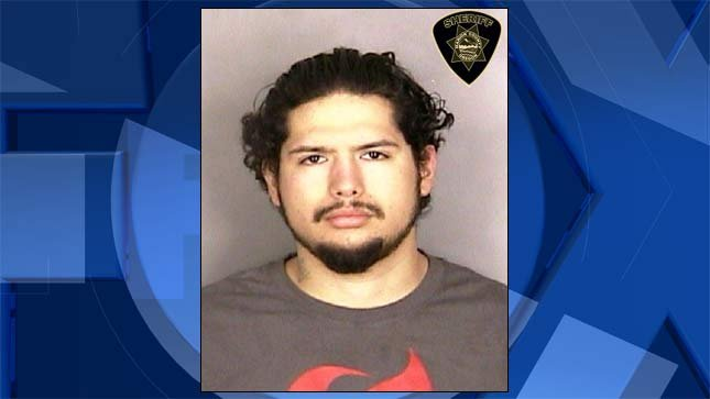 Baltazar Delgado, jail booking photo