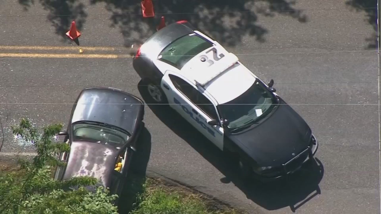 Officer-involved shooting scene in Vancouver. (KPTV)