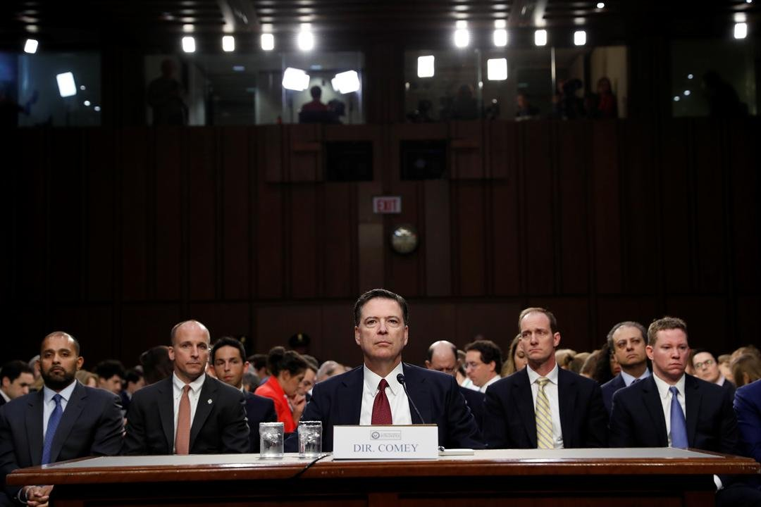 Comey Hearing (Courtesy: AP)