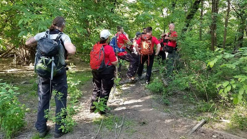 Search efforts in the Hillsboro area earlier this week. (Photo: Mountain Wave Search & Rescue)
