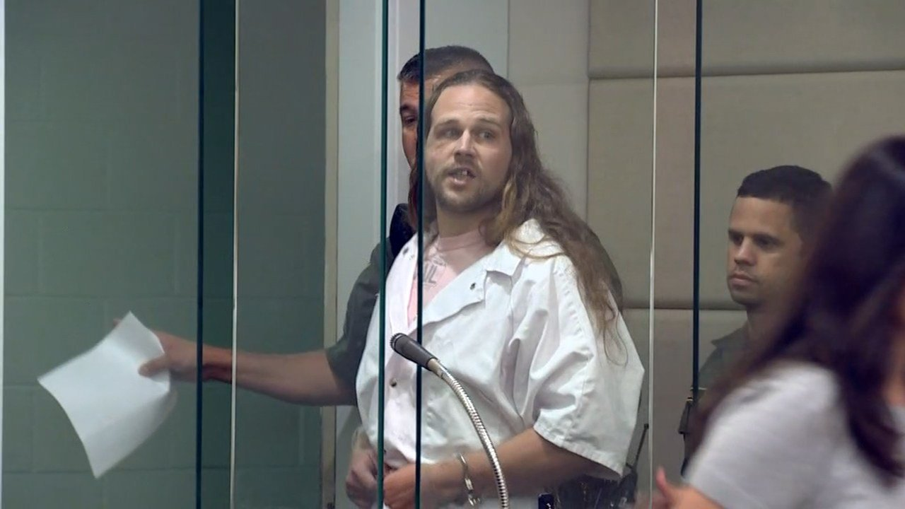 Jeremy Christian during court appearance this week. (KPTV)