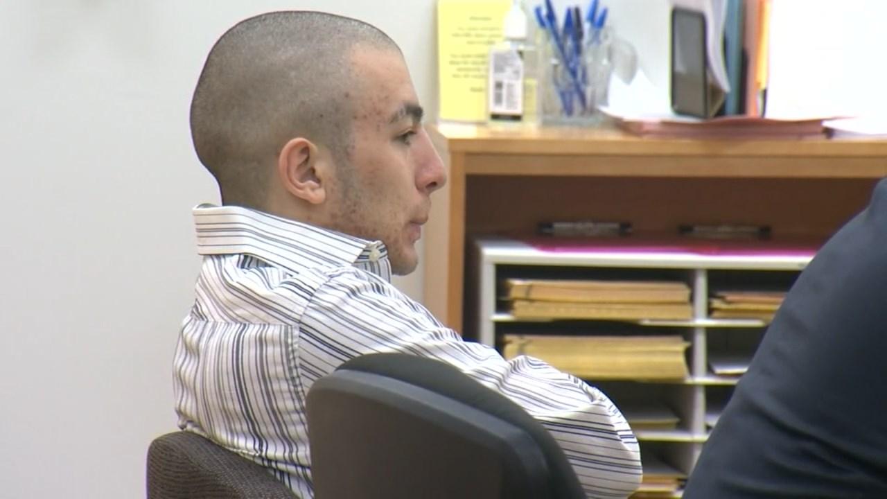 Convicted murderer Jaime Tinoco-Camarena in court Tuesday. (KPTV)
