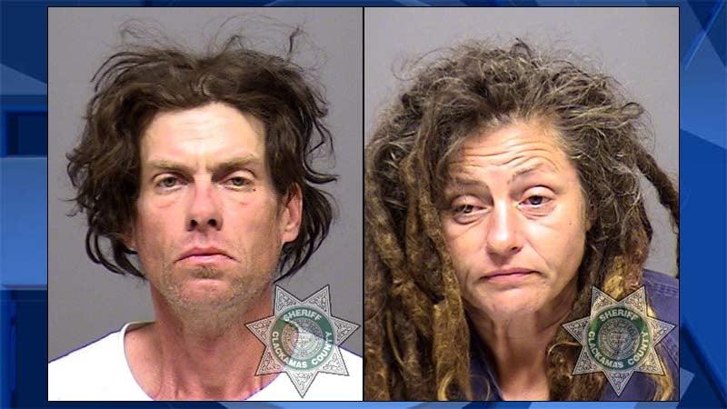 Michael Gray Wilkins, Leslie Jacobs Weeks (Jail booking photos)