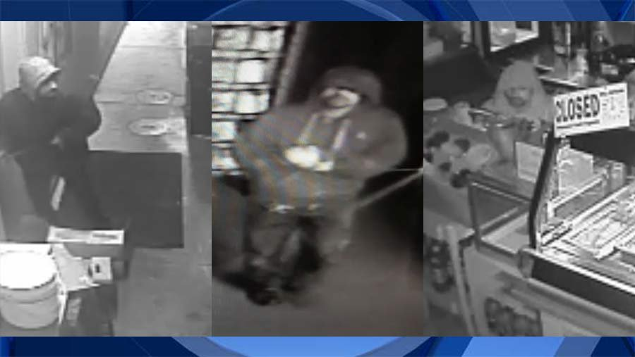 Surveillance images released by Woodburn Police Department.