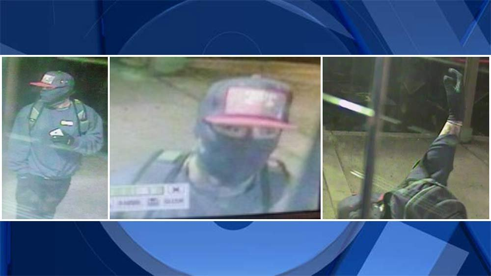 Surveillance images of gun theft suspect in Gresham. (Crime Stoppers of Oregon)