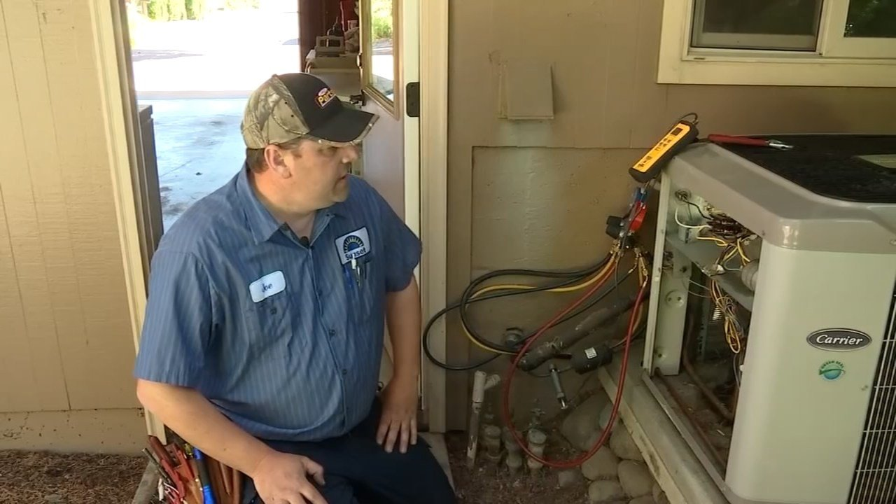 Joe Teach of Sunset Heating & Cooling (KPTV)