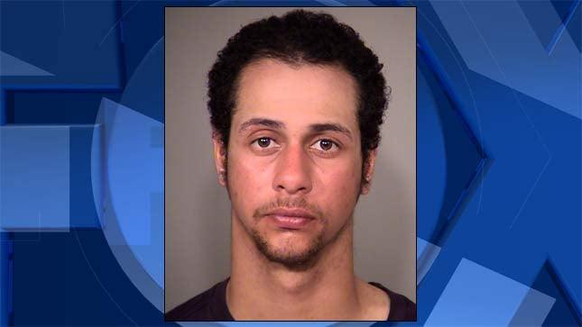 Terrell Kyreem Johnson, jail booking photo