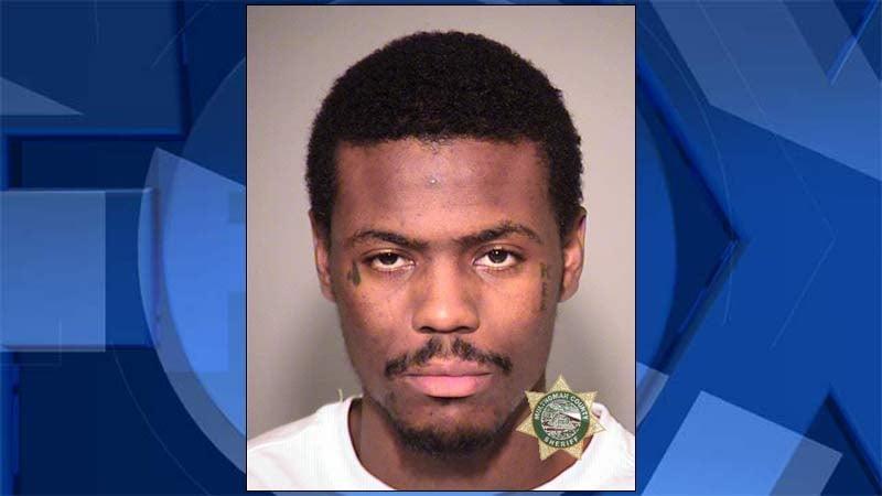 Nakiem Brown, jail booking photo