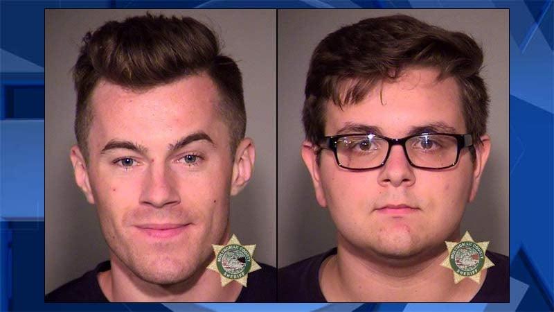 Petro Hurzhuy and Paul Paliy, jail booking photos