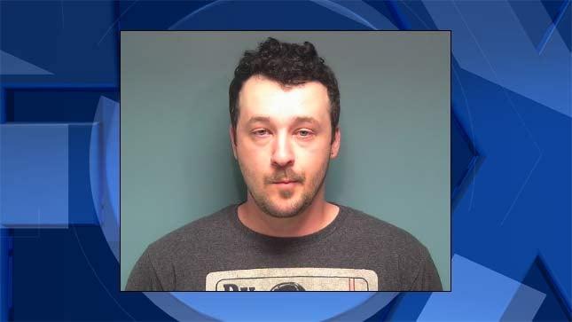 Kyle Johnson, jail booking photo