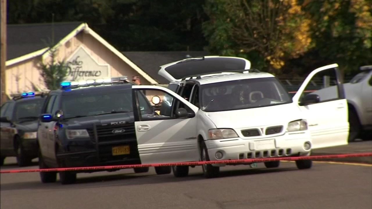 October 2016 officer-involved shooting scene (KPTV file image)