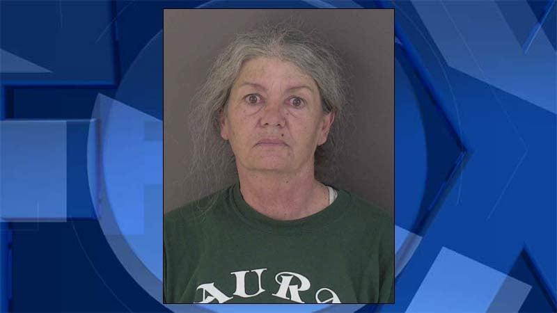 Petreena Marie Clow, jail booking photo
