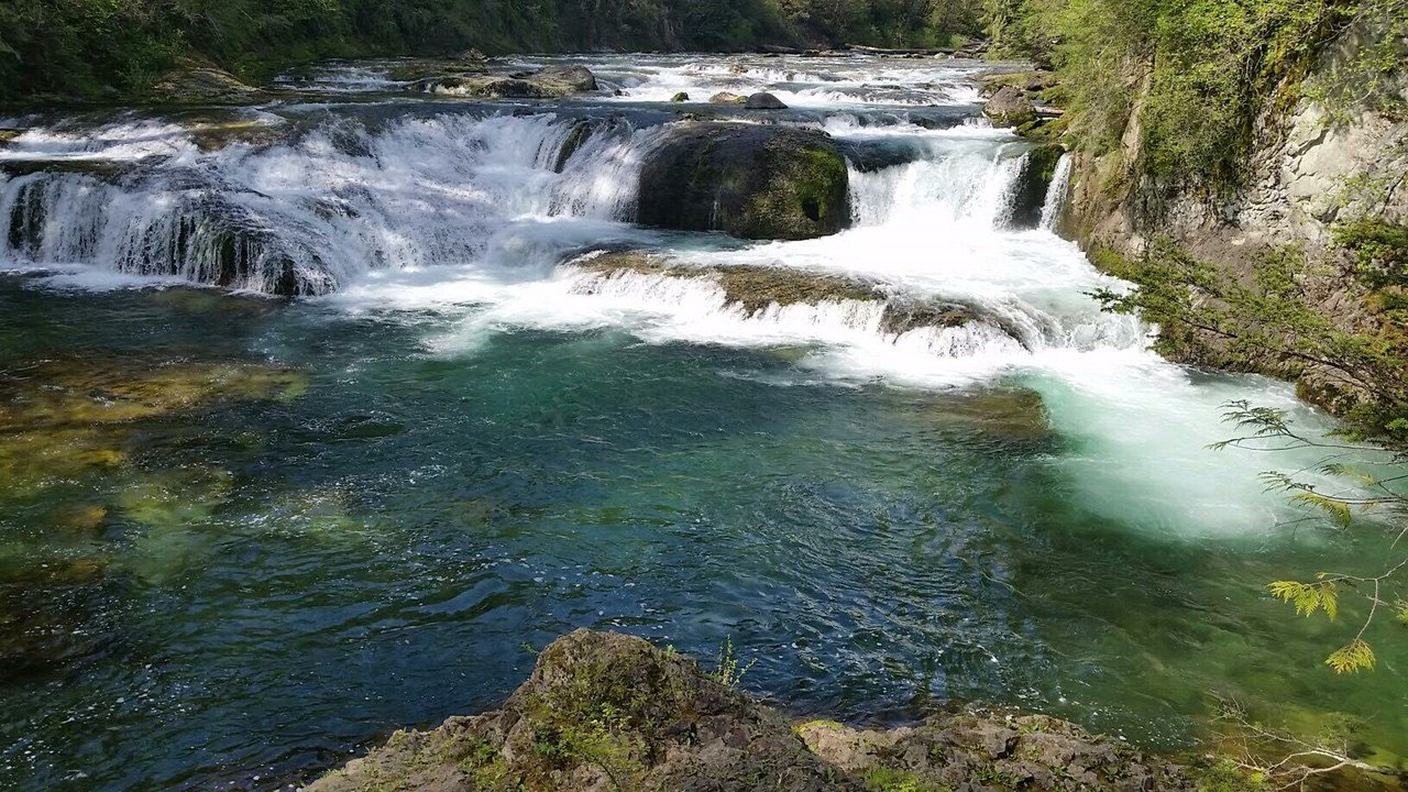 A picture of Naked Falls, courtesy of Steven Epling.