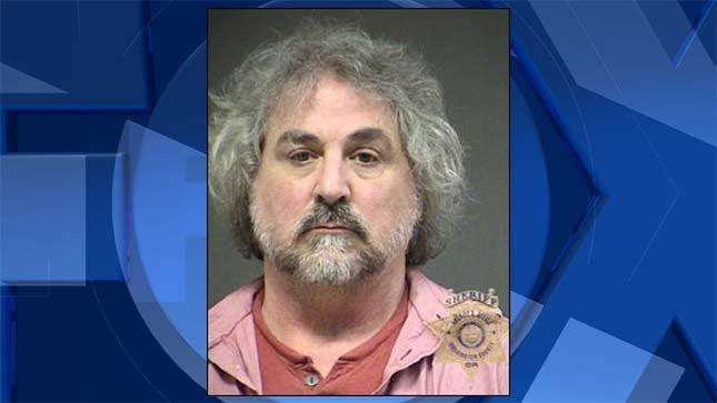 David James McHarg, jail booking photo