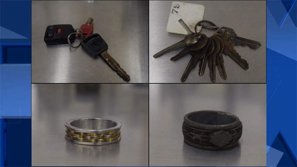 Items in possession of man found dead at Beggars Tick Wildlife Refuge (Portland Police Bureau)