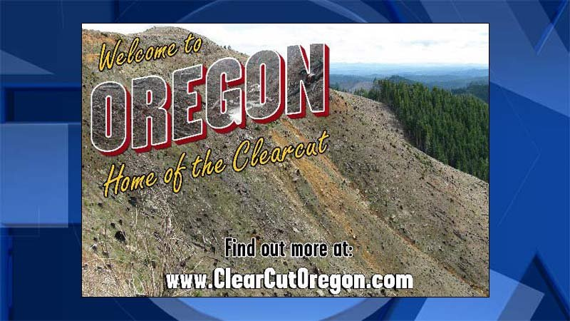 Ad rejected by the Port of Portland in 2013. (Image: Oregon Wild)