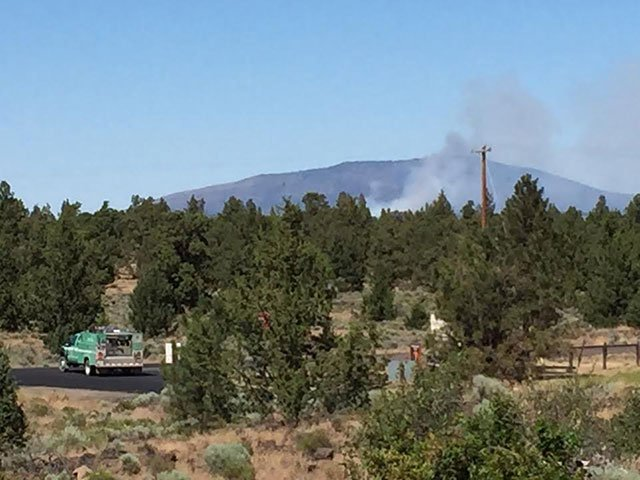 Photo: Central Oregon Fire Twitter)