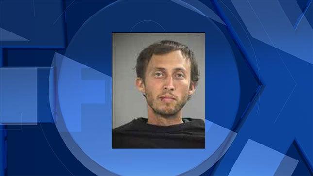 Matthew Gabbard, jail booking photo
