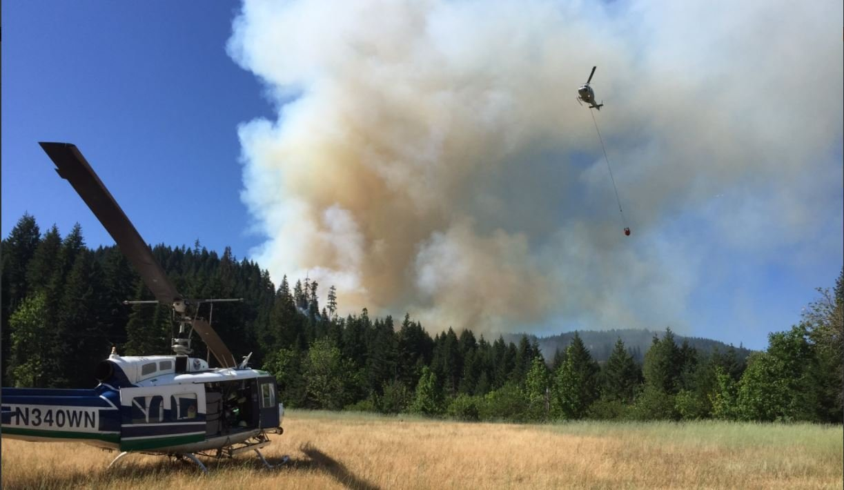 Courtesy: Washington State Department of Natural Resources Fire Twitter
