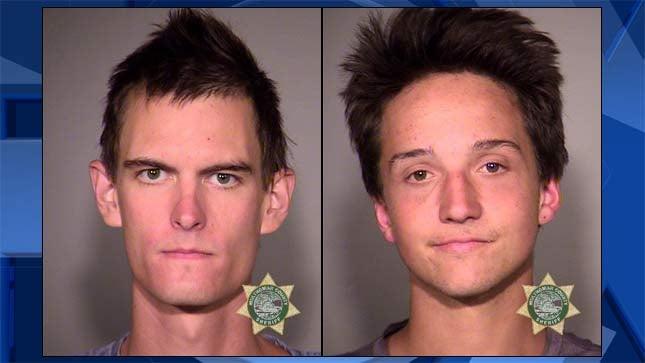 Jordan Jeffrey Bilyeu, Michael Dean Patterson, jail booking photos