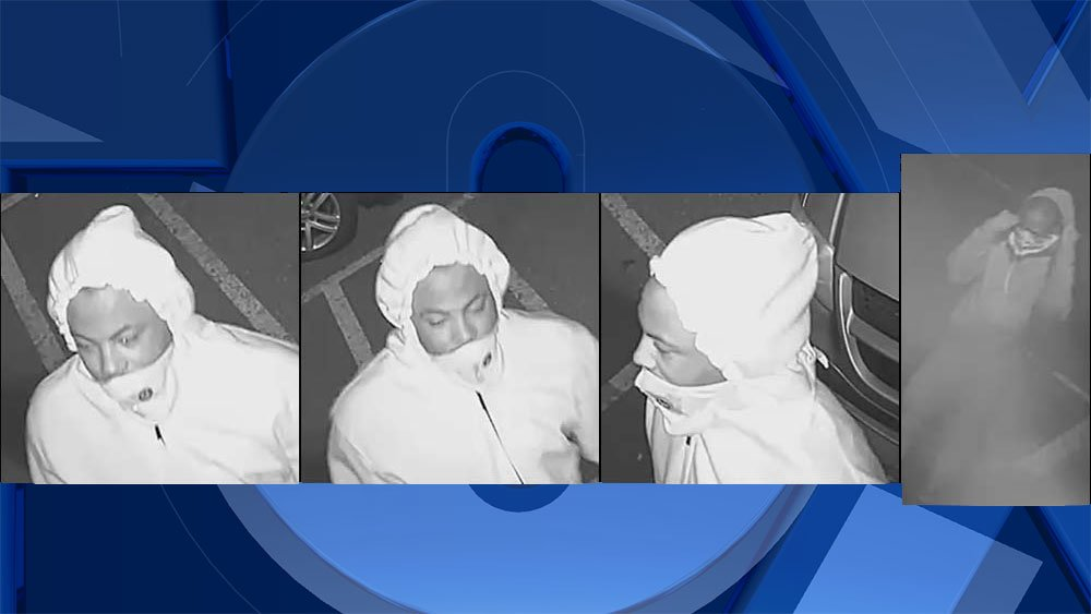 Surveillance images of armed robbery suspects released by Portland Police Bureau.