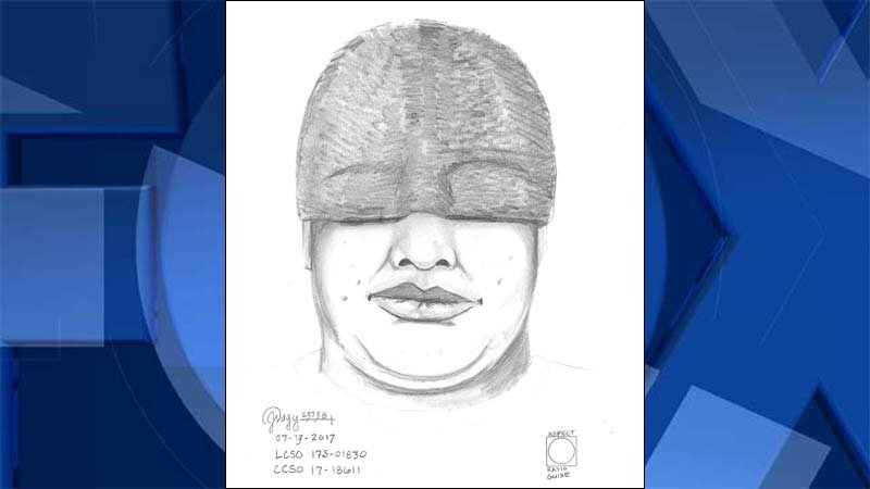 Suspect sketch created by Clackamas County Sheriff's Office and released by Lincoln County Sheriff's Office