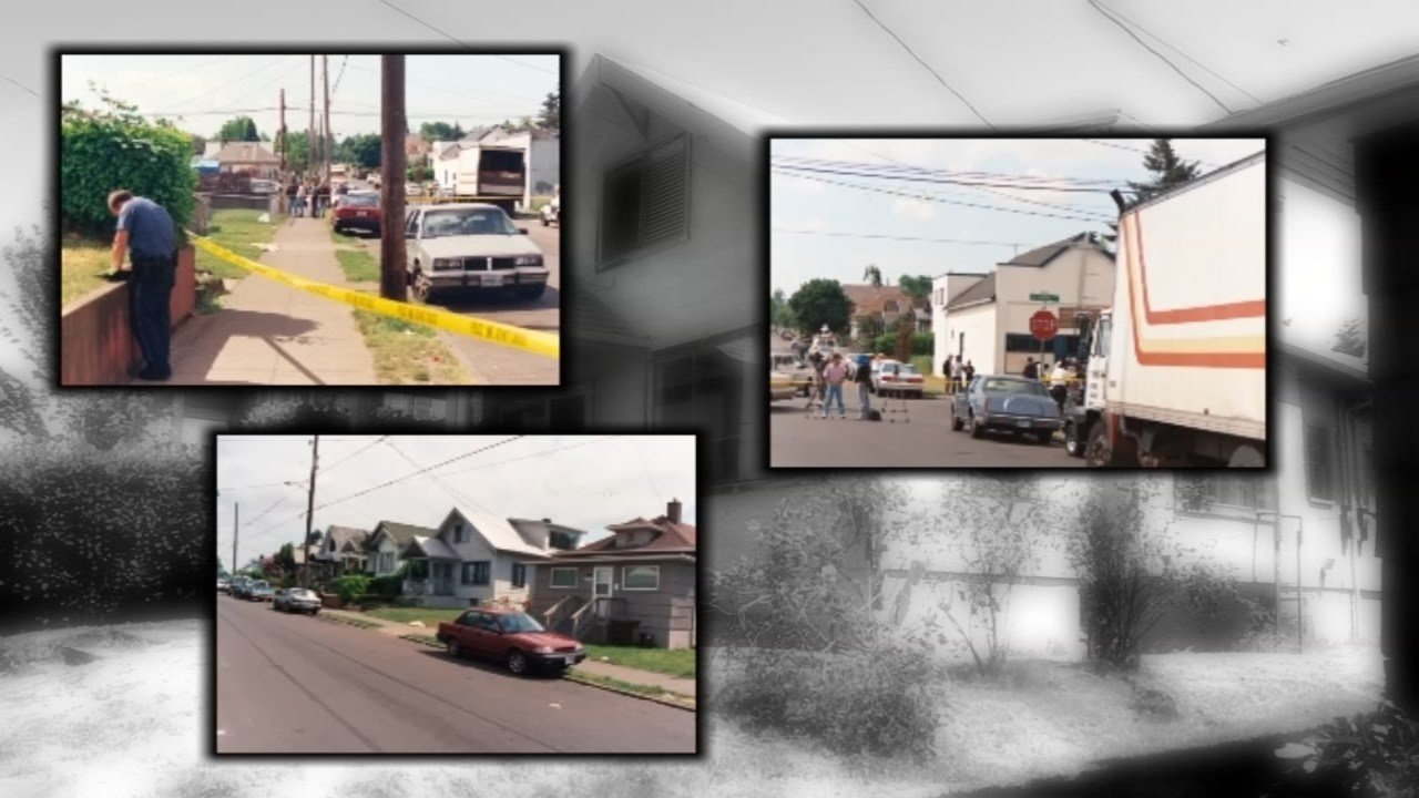 File images connected with 1997 cold case killing in northeast Portland. (KPTV)