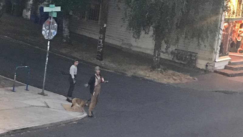 Photo of dog abuse suspect in southeast Portland. (Photo released by Oregon Humane Society)