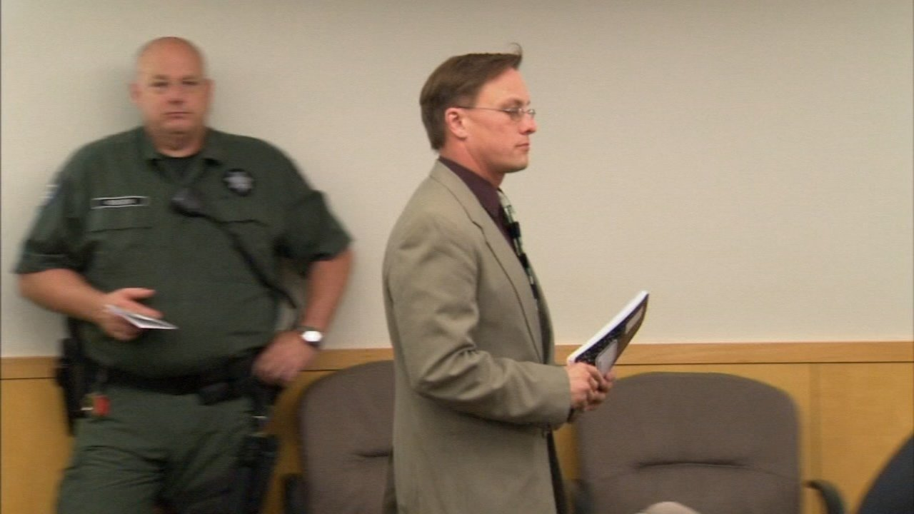 Matthew Morasch during a prior court appearance. (KPTV)