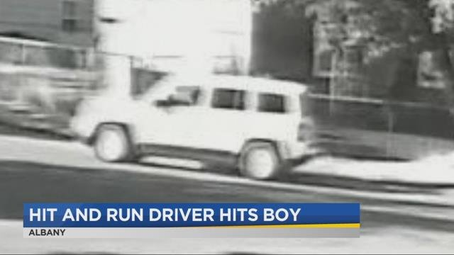 12-year-old boy recovering after hit-and-run in Albany