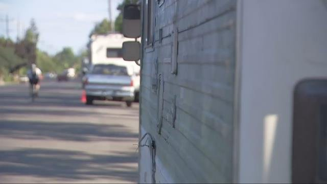 Residents of RVs parked in N. Portland say they understand why neighbors are upset