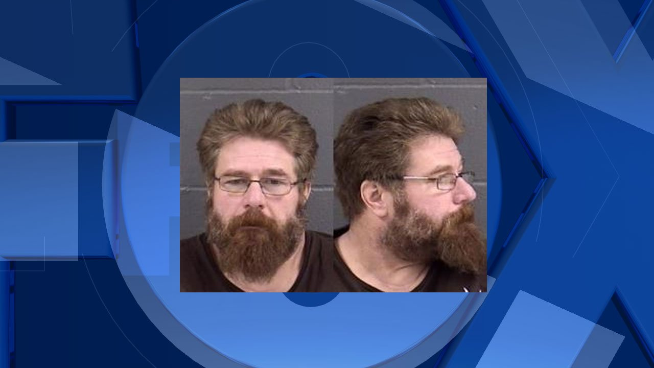Jared Armitage, jail booking photo