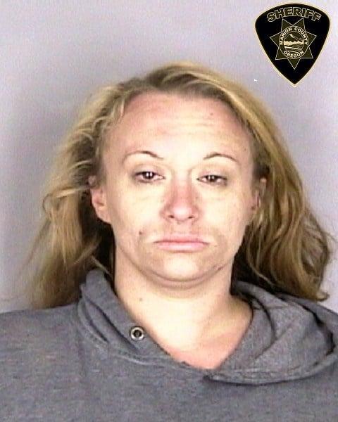 Donna Celeste Dubbe booking photo (courtesy Salem Police Dept.)