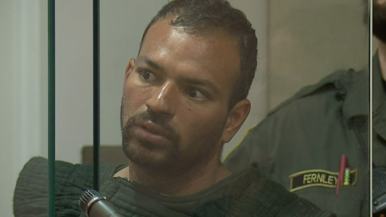 Sergio Jose Martinez in court Wednesday. (KPTV)