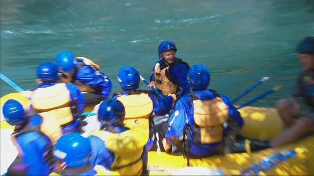 Andy's Adventures: Rafting on the White Salmon River