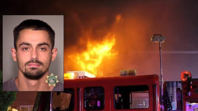 Police: Murder, arson suspect arrested for deadly NE Portland apartment fire
