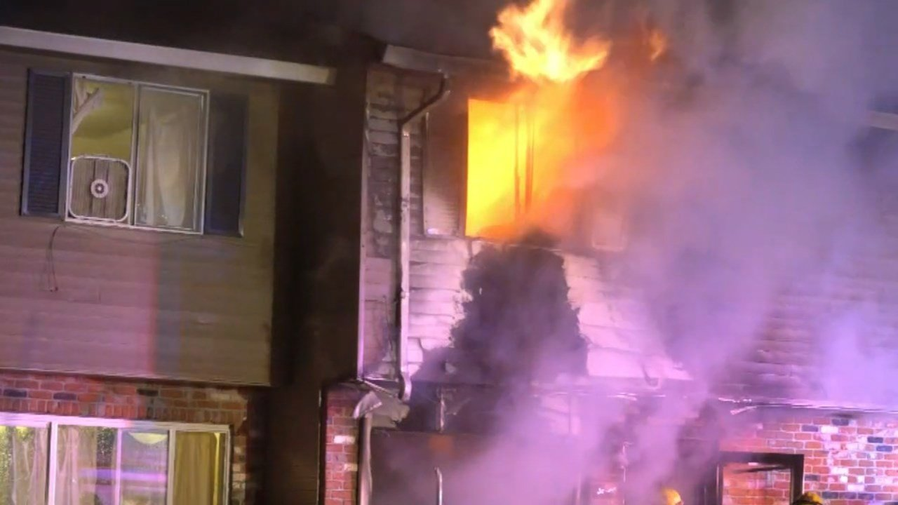 Deadly apartment fire in northeast Portland on Sunday. (KPTV)