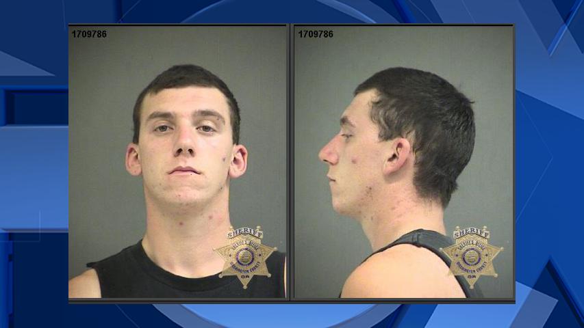 Justin Sharp, jail booking photo (Courtesy: Washington County Jail)