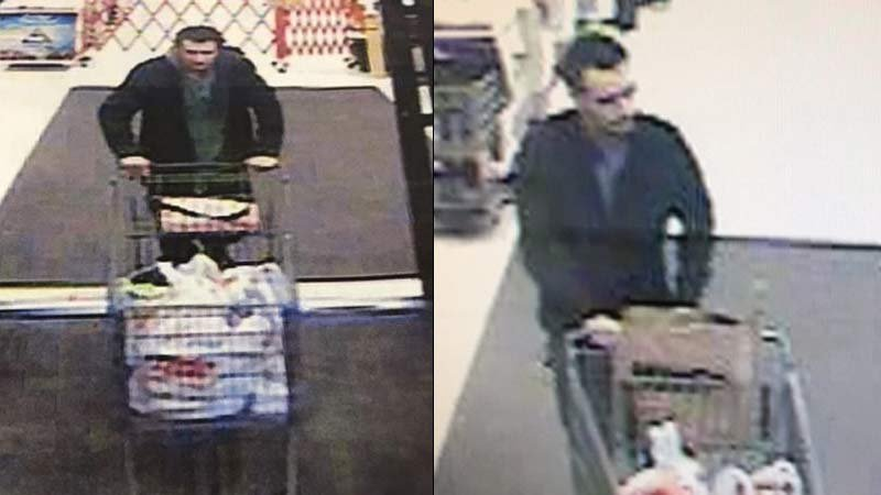 ID theft suspect (Surveillance images released by Clark County Sheriff's Office)