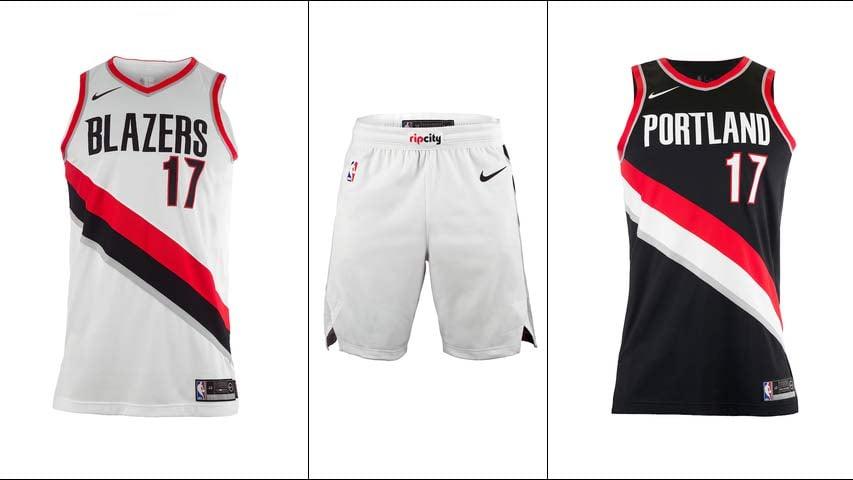 Images: Portland Trail Blazers, Nike