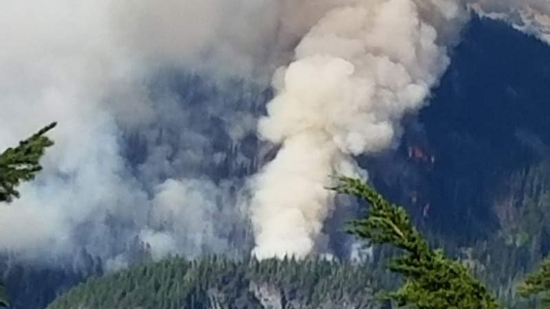 Whitewater Fire (Photo: Willamette National Forest)