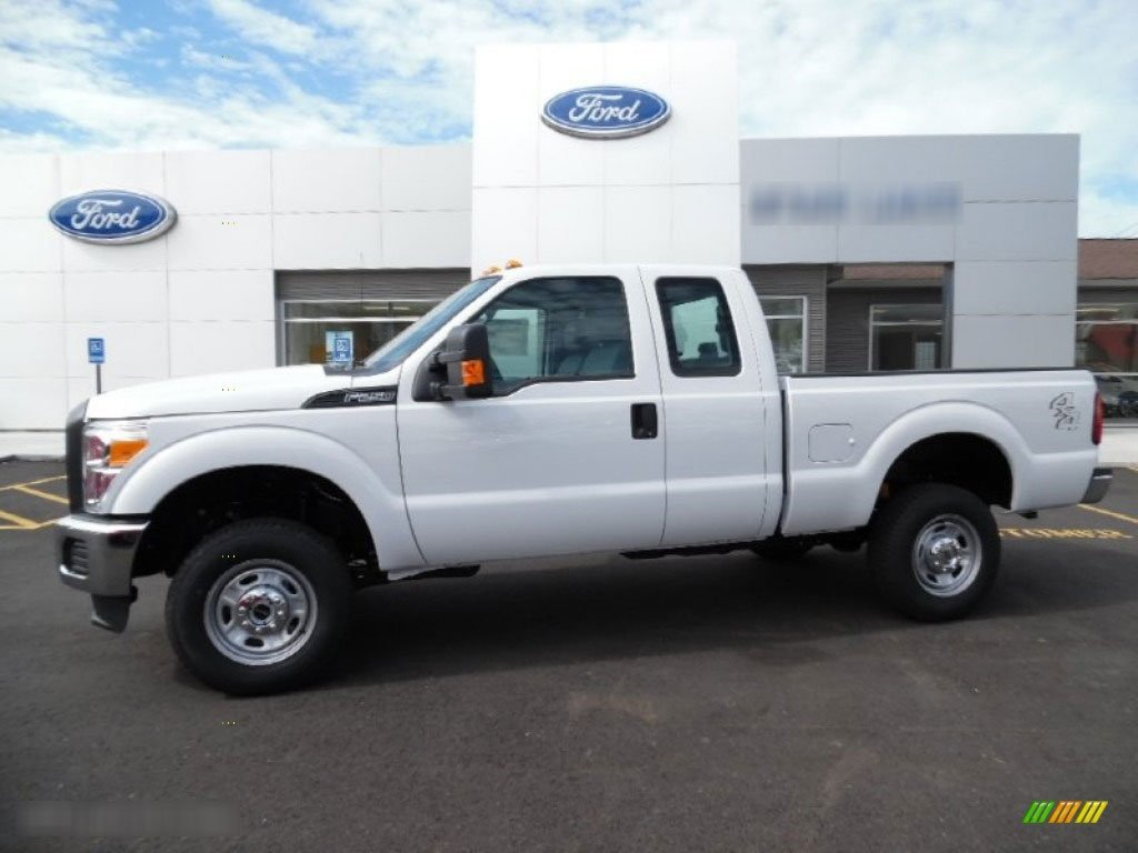 The truck police claim was stolen by a teen in Forest Grove is a white 2016 Ford F-250 extra-cab pickup like the one seen in this photo. (Forest Grove PD)