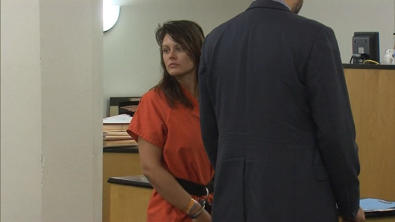 Mariah Dickison in court Friday. (KPTV)