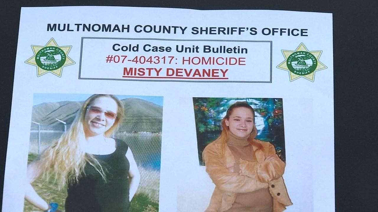 Misty DeVaney was found dead off Highway 30 near Scappoose in August 2007. (KPTV)